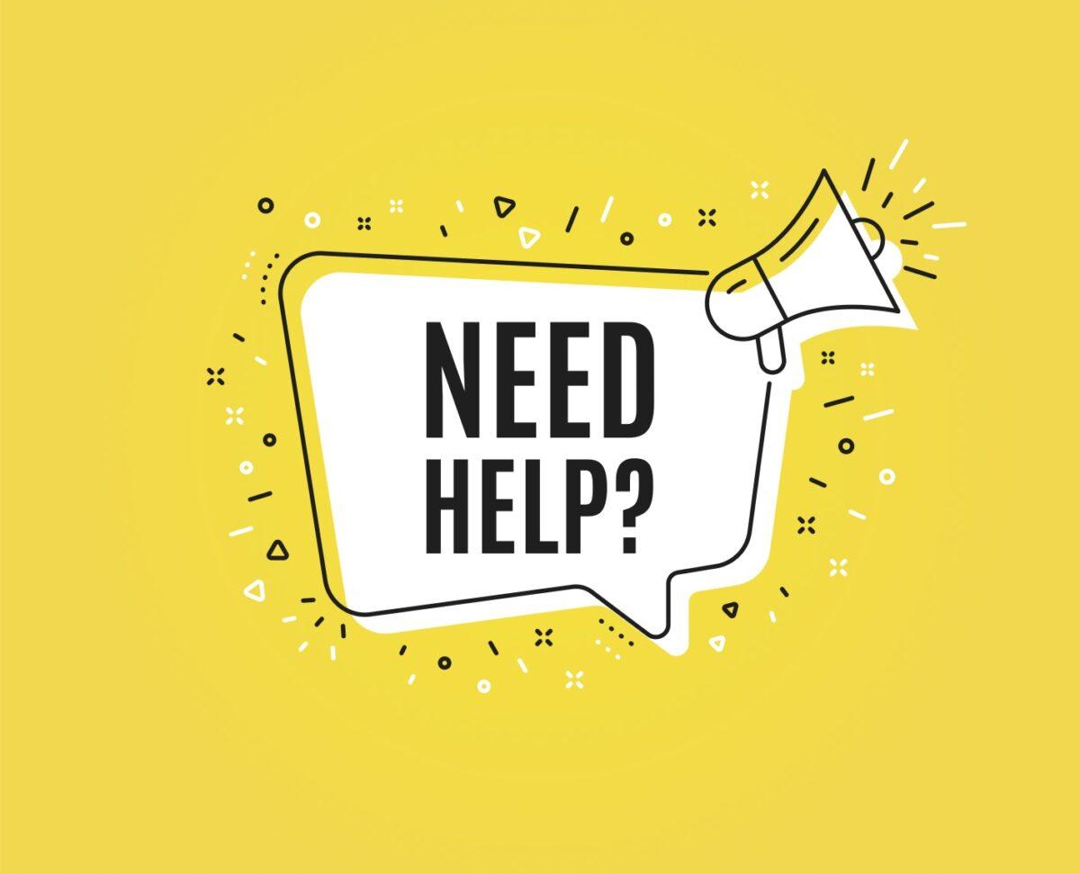 Trenger du hjelp?